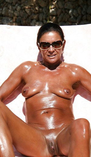 Oiled Mature - Naked Mature Ladies-5934